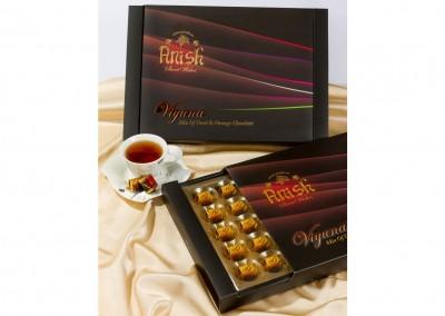 بسته بندی شکلات کادویی