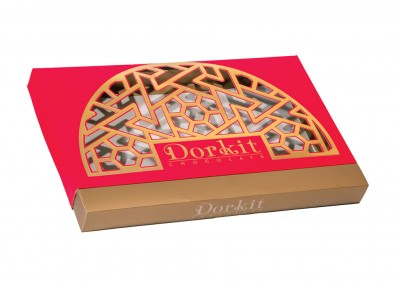 بسته بندی شکلات کادویی دورکیت