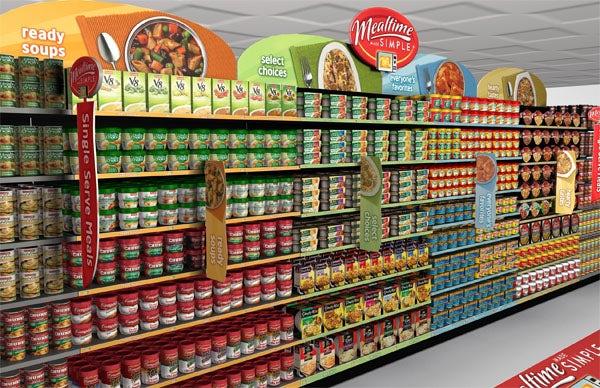 این چیزی است که شما در حقیقت در یک سوپرمارکت مشاهده میکنید. کدام محصول در ابتدا نظر شما را جلب کرده است؟